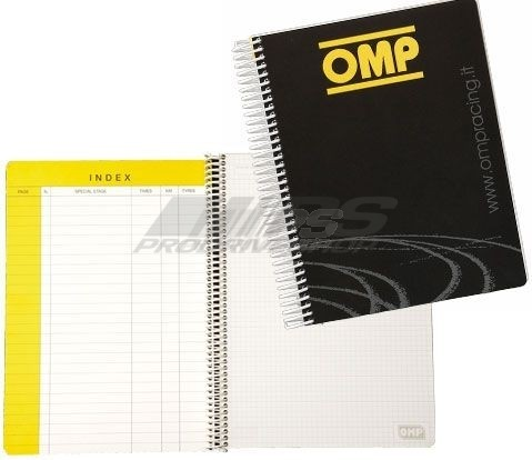 Quaderno note Omp