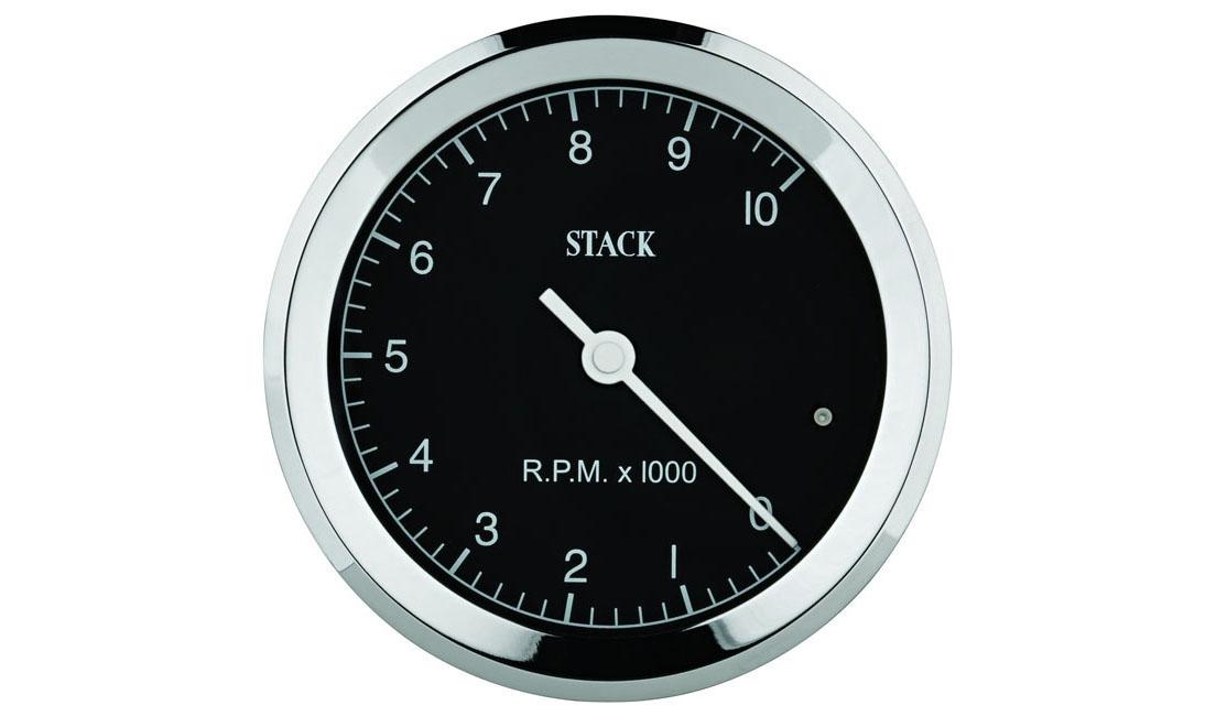 Contagiri Classic Ø 80 mm (Scala 0 - 10.000 rpm)