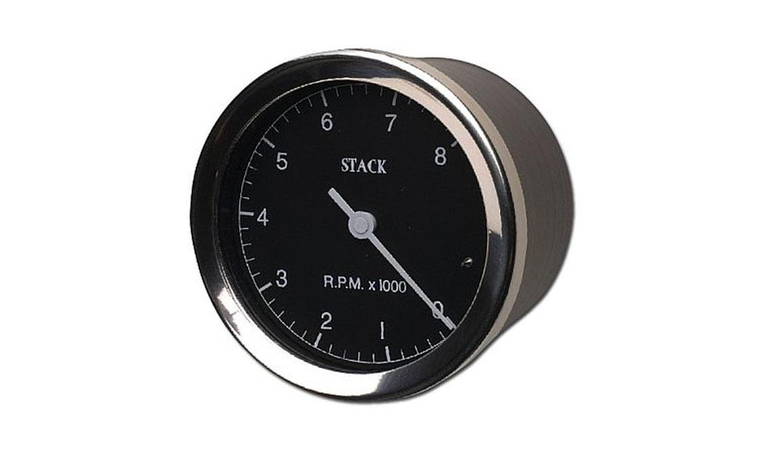 Contagiri Classic Ø 80 mm (Scala 0 - 8.000 rpm)