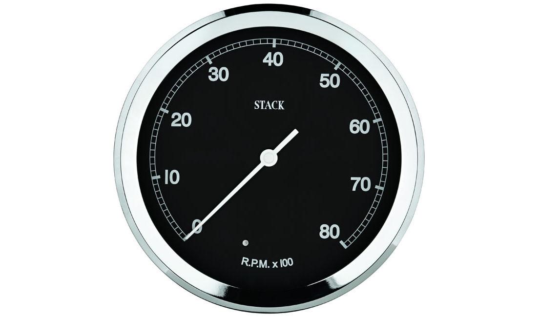 Contagiri Classic Ø 125 mm (Scala 0 - 8.000 rpm)