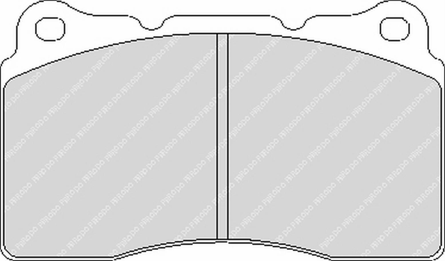 Ferodo Racing Honda Civic 2.0 i-VTEC Type R (>08/'15)