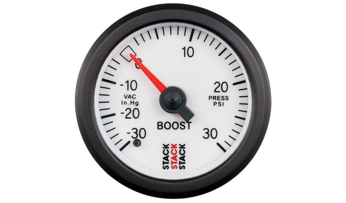 Analogico meccanico Pressione turbo (Scala -30 / +30 psi)