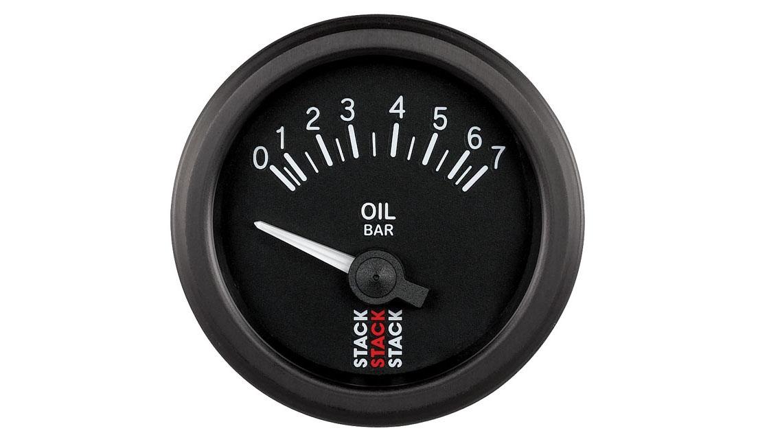 Analogico elettrico Pressione Olio (Scala 0 - 7 bar)