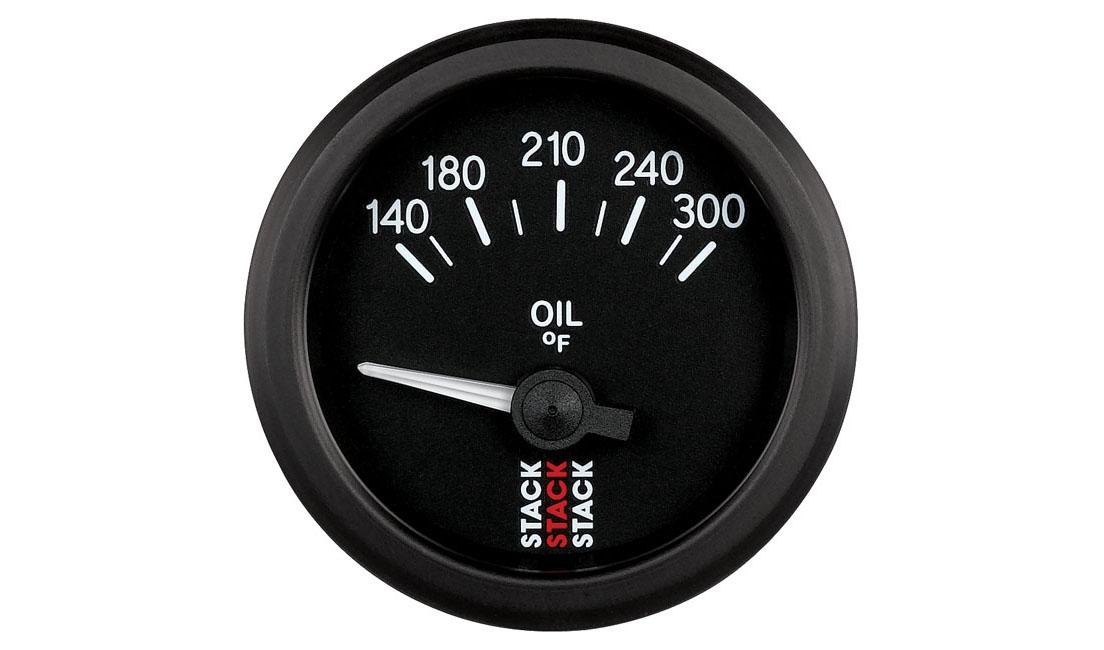 Analogico elettrico Temperatura Olio (Scala 140 - 300°F)