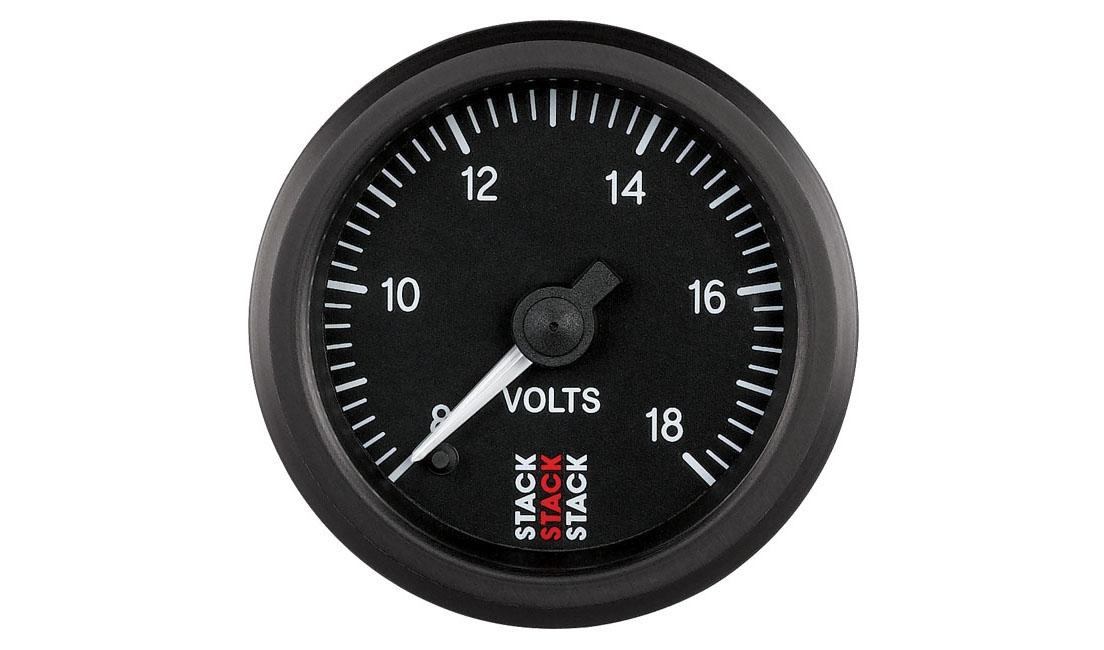 Passo-Passo Voltaggio Batteria (Scala 8 - 18V)