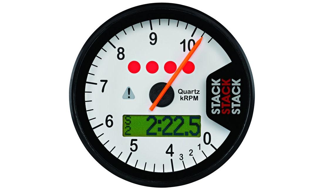 Contagiri multifunzione STREET RACE (Scala 0 - 4 - 10.500 rpm)
