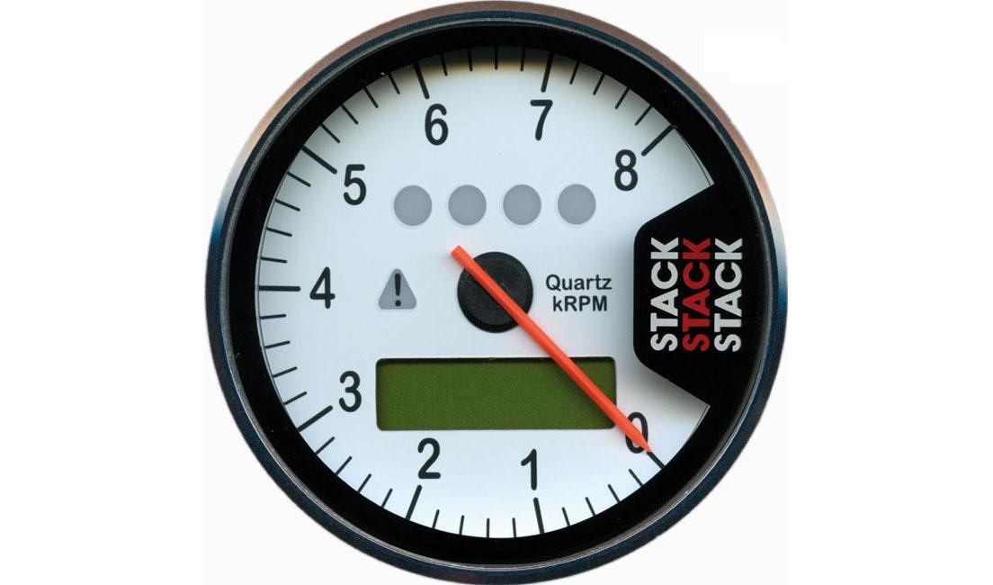 Contagiri multifunzione (Scala 0 - 8.000 rpm)