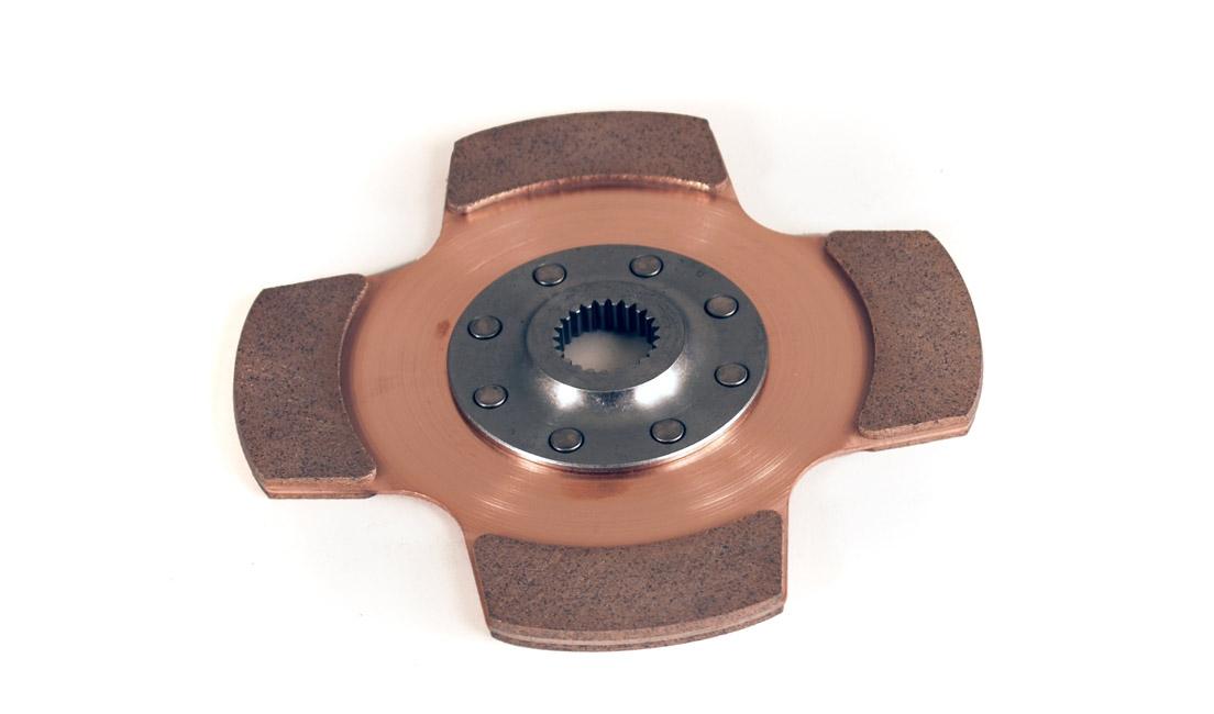 """Disco frizione cerametallico (Ø184 mm - 4 pale 10x1 1/16"""")"""