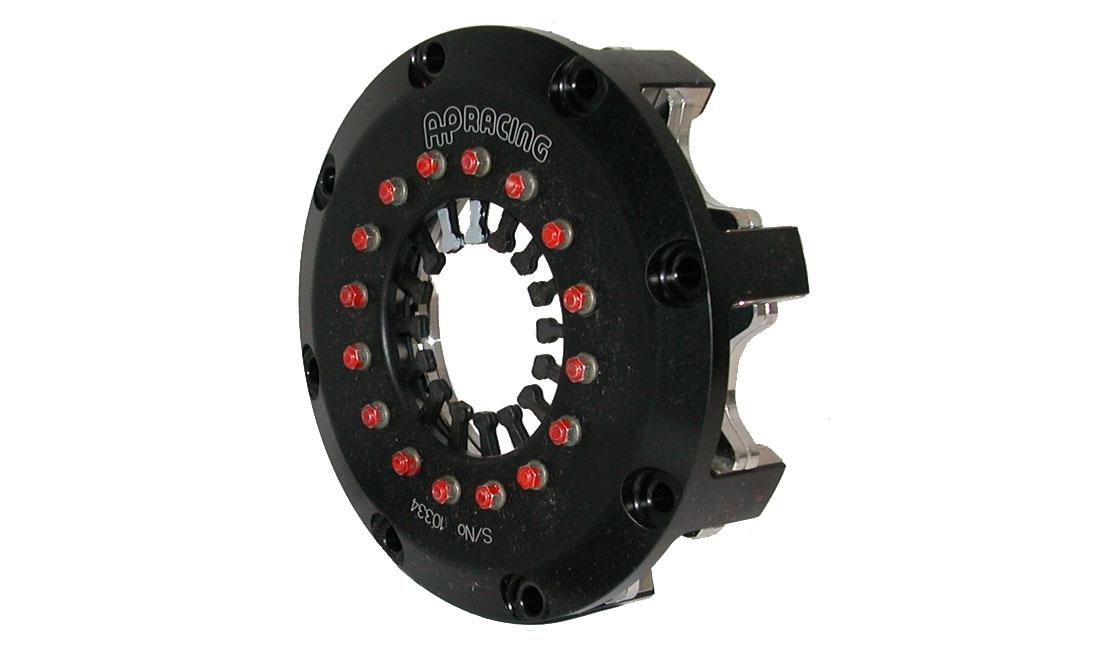 """Kit frizione """"heavy duty"""" a 2 dischi a pale cermet 140 mm (dischi esclusi)"""