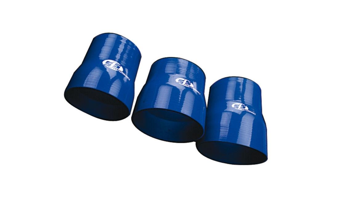 Riduttore silicone dritto (Diametro interno 22/19 mm / Spessore parete 4,5 mm)