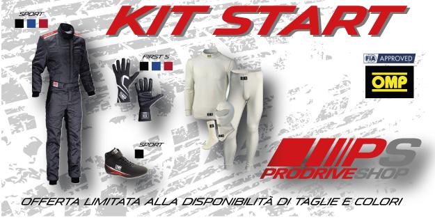 Kit racing start Omp omologato Fia